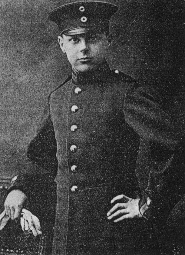 Kadett Ernst von Salomon (September 25, 1902 - August 9, 1972)