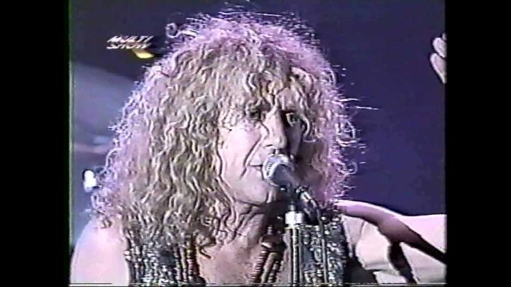 Robert Plant - Hollywood Rock -  Praça da Apoteose - RJ - Brazil -1994.0...