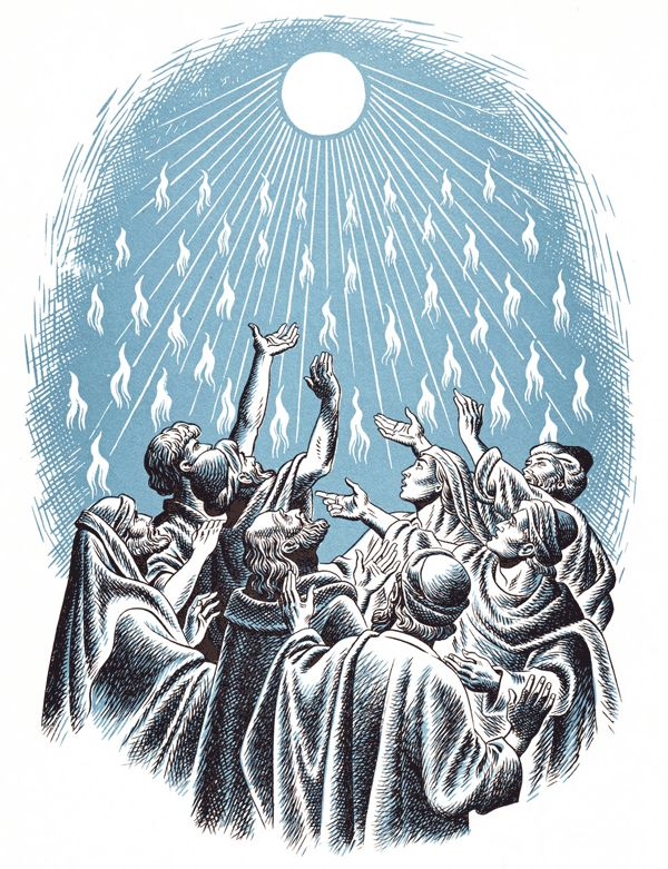 day of pentecost in acts