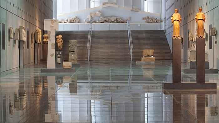New Acropolis Museum, Athens, Greece