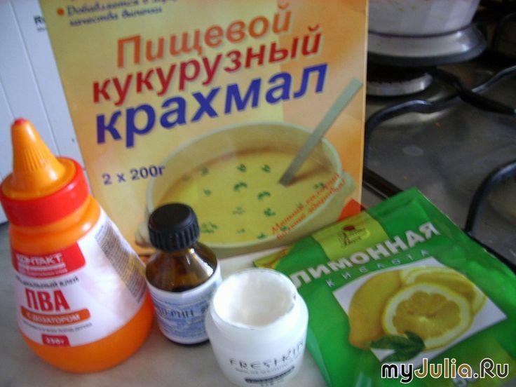 Холодный фарфор - это просто и красиво: Рукоделие - женская социальная сеть myJulia.ru