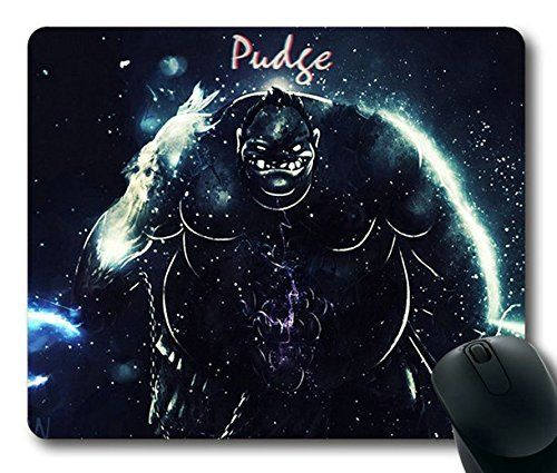 Popular Mouse Pad with pudge dota 2 art Non-Slip Neoprene Rubber Standard Size 9 Inch(220mm) X 7 Inch(180mm) X 1/8 Inch(3mm) Mousepads
