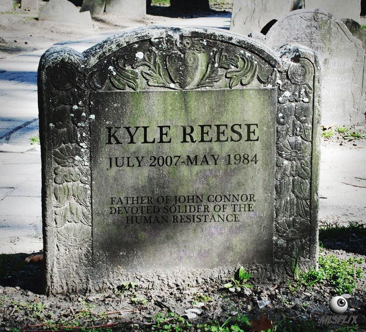 Kyle Reese Died Before He Was Born.