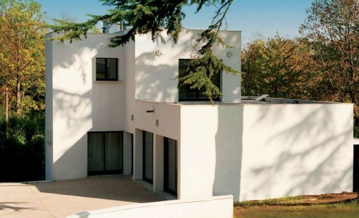 paul poiret villa m zy sur seine yvelines command e en 1921 1923 l 39 architecte robert. Black Bedroom Furniture Sets. Home Design Ideas