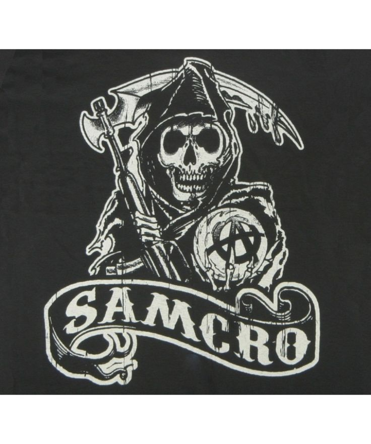 sons of anarchy logos | Sons of Anarchy Samcro T-Shirt Logo