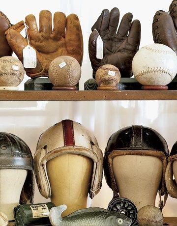 vintage sports props - Google Search