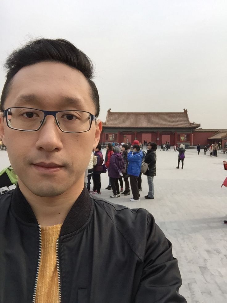 Me at the Forbidden City, Beijing, China.