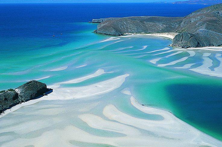 Balandra Bay from the Secretaria de Turismo de Baja California Sur