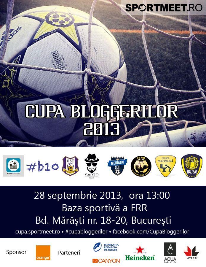 Cupa Bloggerilor la Fotbal