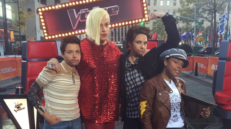This is 'The Voice'! Weekend TODAY hits a high note for Halloween