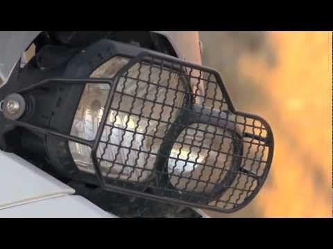 Touratech BMW F800GS Headlight Guard Review
