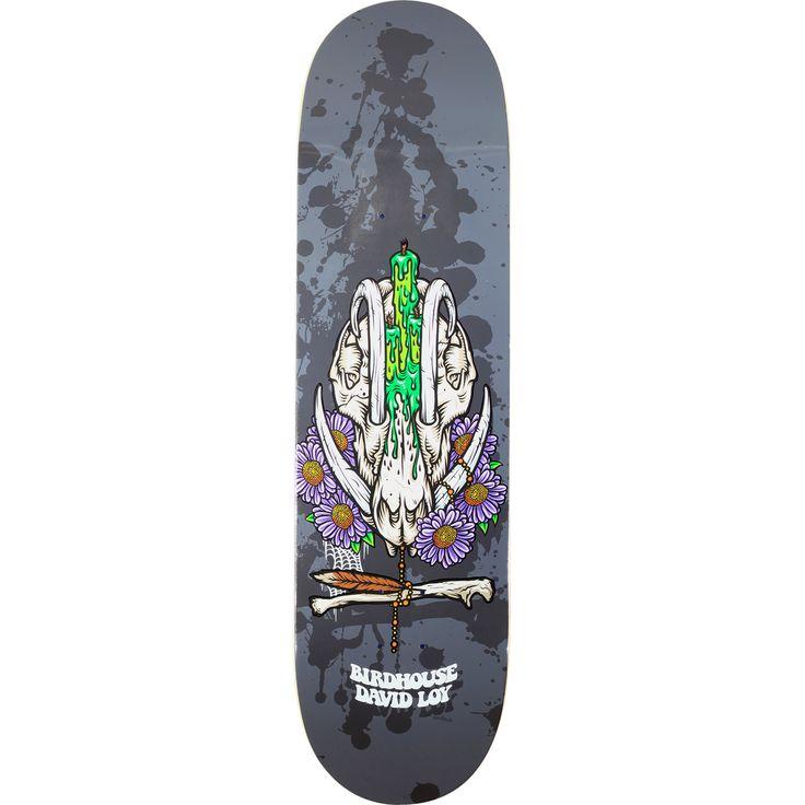 Birdhouse Skateboards David Loy Shrine Skateboard Deck - 8.38 x 32.5 - Warehouse Skateboards