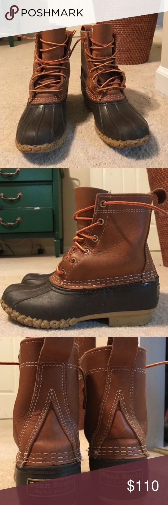 LL Bean Boots Women's LL Bean Boots size 7 way too big on me worn maybe 6-7 times mid-good condition Shoes Winter & Rain Boots