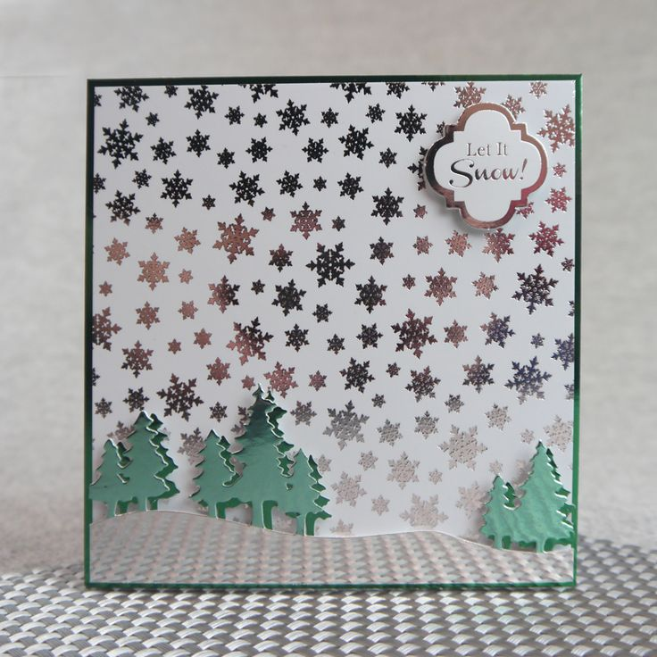 created from Hunkydory Crafts' 50 Shades of Mirri Festive