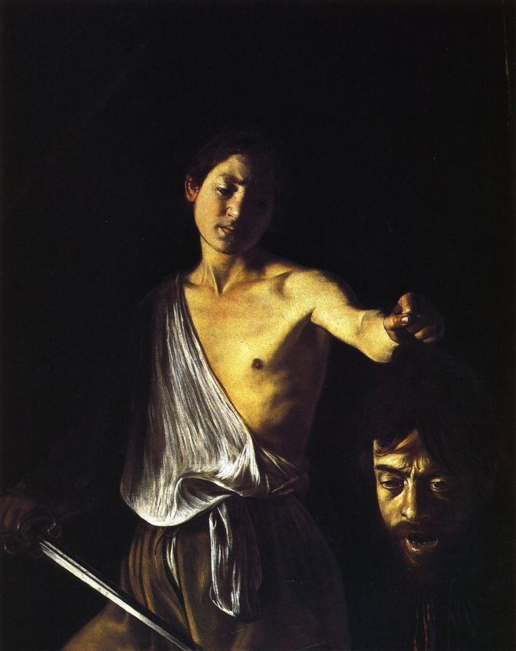Caravaggio - David with the Head of Goliath, circa 1610