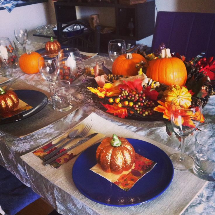 Thanksgiving Table Settings Pinterest: Pinterest Thanksgiving Table Decorations Ideas Photograph