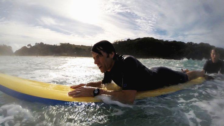 John Bishop learns to surf - John Bishop's Australia: Episode 2 Preview ...