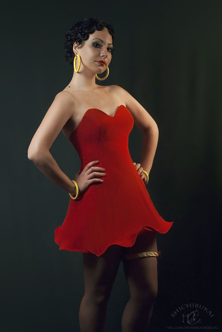 adult betty boop costume