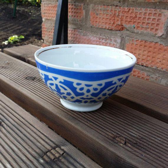 Ceramic salad bowl. Vintage salad bowl. от USSRVintageShopUSSR