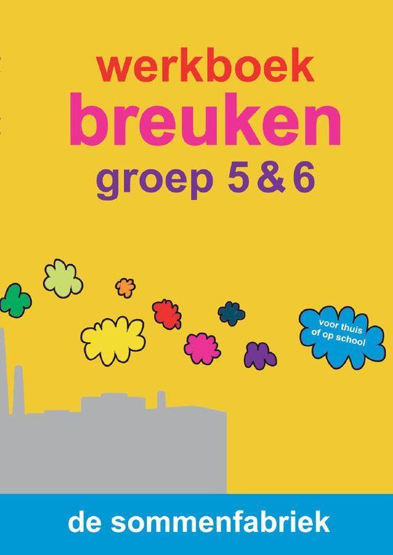 werkboek breuken groep 6