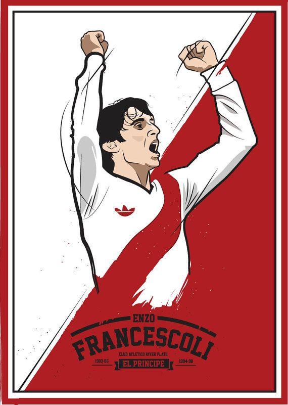 El Principe #Francescoli #River #Idolo