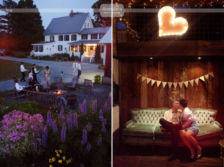 Here are some of our favorite natural style wedding photography pictures from a wedding at the eco-friendly barn wedding venue, Bishop Farm in NH.