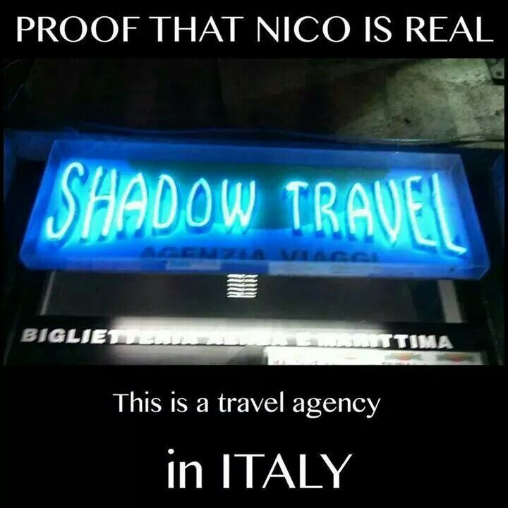 #Proof------- I'd move to Italy and try my best to get a job there. Hey, if it means meeting NICO DI ANGELO then HADES YEAH!!!