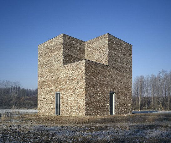 one of the structures at the amazing Insel Hombroich Foundation in Neuss, Germany. via SUBTILITAS
