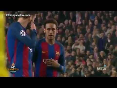 Neymar, great protagonist of a historical comeback of FC Barcelona again...