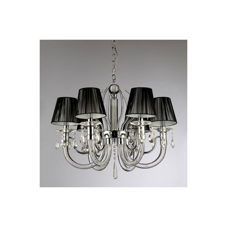 Warehouse Of Tiffany Ceiling Lights -Black, Silver