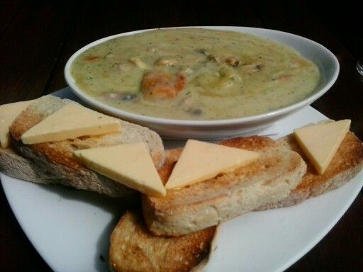 Seafood Chowder, The Craic Irish Pub