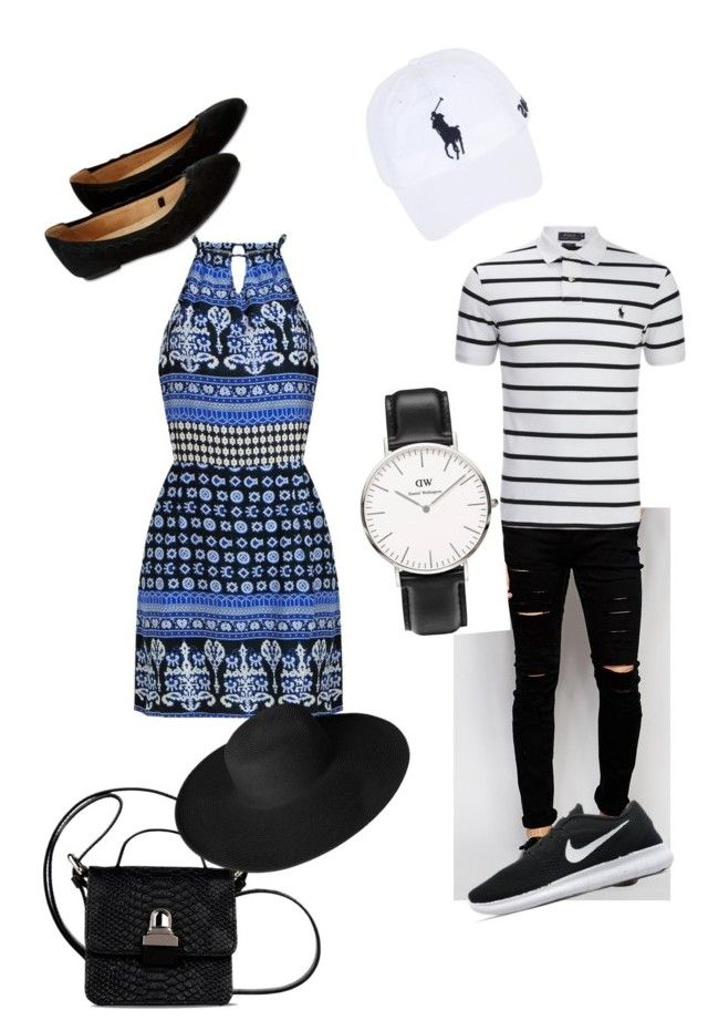 """Date"" by fashion-girl-katrina on Polyvore featuring Accessorize, Cheap Monday, Ralph Lauren, NIKE, MM6 Maison Margiela, Daniel Wellington, Dorfman Pacific and Polo Ralph Lauren"