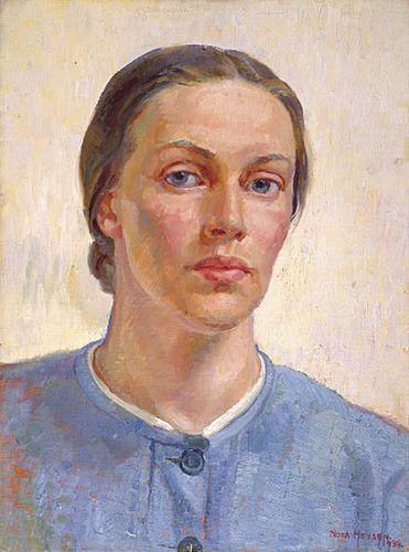 nora heysen, self portrait 1938, via Flickr.