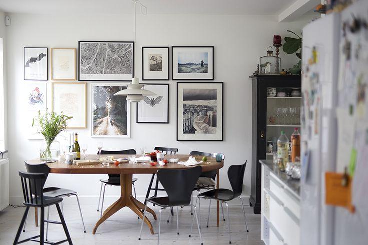Lovely dining area | @malinwikerberg | AprillAprill - Design Inspiration Vardag
