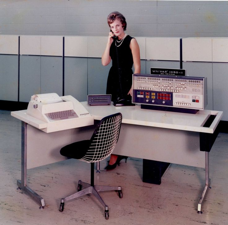 Univac 1050-II console. in 2019 | Old computers, Micro ...