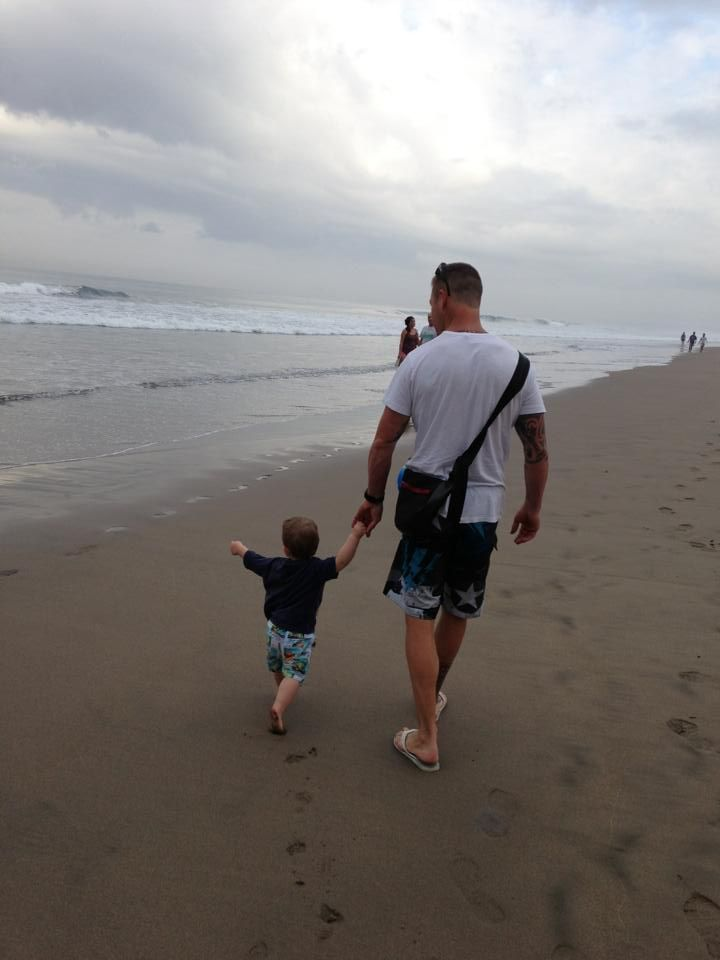 Shannon Ponton From The Biggest Loser Australia With Son Max
