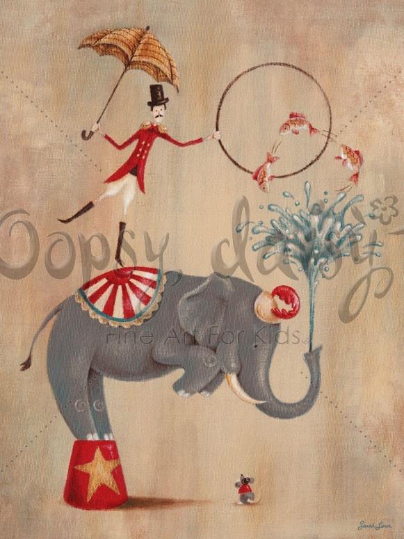 Vintage Circus Elephant | Circus inspiration | Pinterest