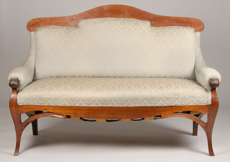 Sofa | Carl James Bühring | 1901 | Digitalt Museum | Public Domain