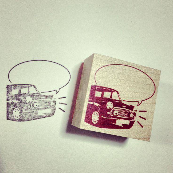 Rover mini stamp