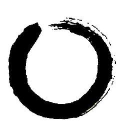 ENSO - classic #symbol for Zen. It is known as the circle of enlightment. It's symbolism referrs to the beginning and end of all things, the circle of life, and the connectedness of existense.
