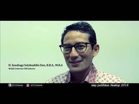 Dukungan SUPER Wakil GUBERNUR  Jakarta untuk Film 212 The Power Of Love