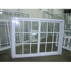 Aberturas: Ventana Aluminio Blanco Repartido 1,50x1,10 C/vid - $ 990,00 en MercadoLibre