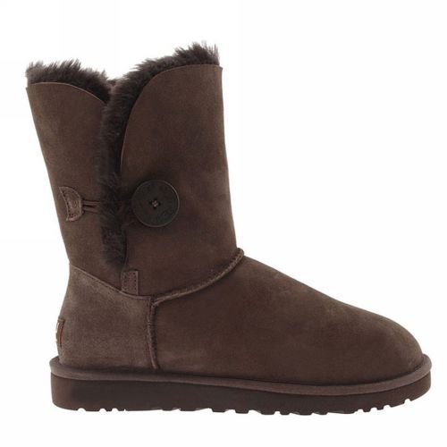 UGG Boots – Bailey Button – Chocolate – 5803