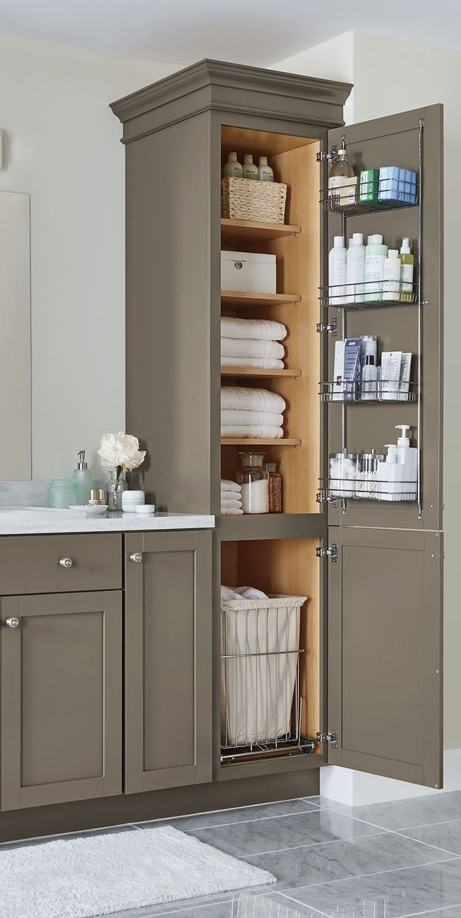 Our Top Storage And Organization Ideas Just In Time For Spring Cleaning Diy Bathroom Storage Bathroom Renovations Bathroom Design