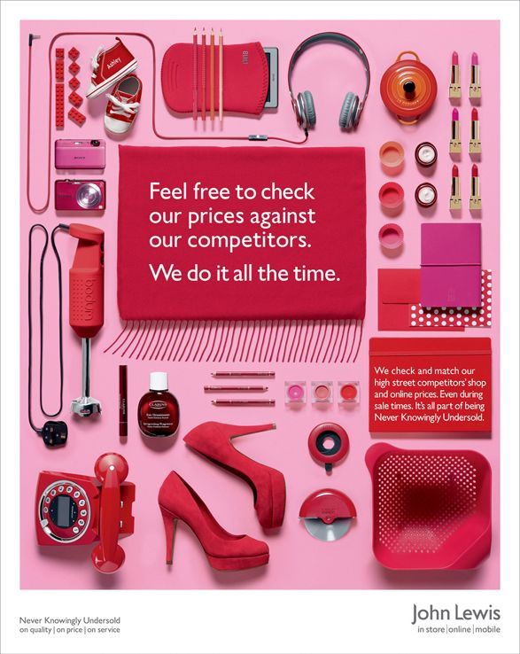 John Lewis NKU RED Victoria Ling shoots for John Lewis Never Knowingly Undersold