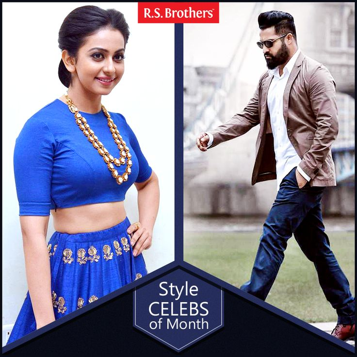 #Style Celeb Of The Month. Hey Folks ,this week 2 celebrities #Jr.NTR and #Rakul Preet Singh came with Trendy Fashion Look for Nannaku Prematho Movie Audio Launch. Take a look how both dazzled in their Stunning avatar!