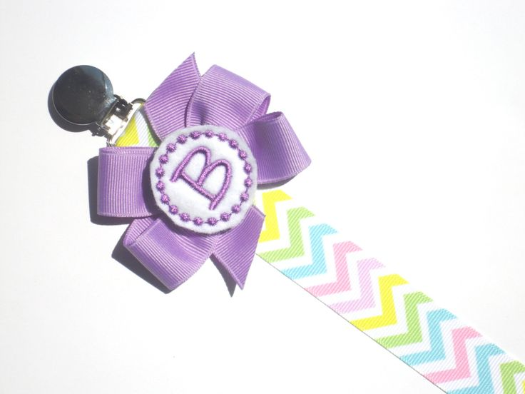 Personalized Pacifier Clip Chevron Monogram Pacifier Clip Personalized Baby Pacifier Holder Soothie Nuk Mam you pick  Twins Baby Gift (9.00 USD) by sassylocks