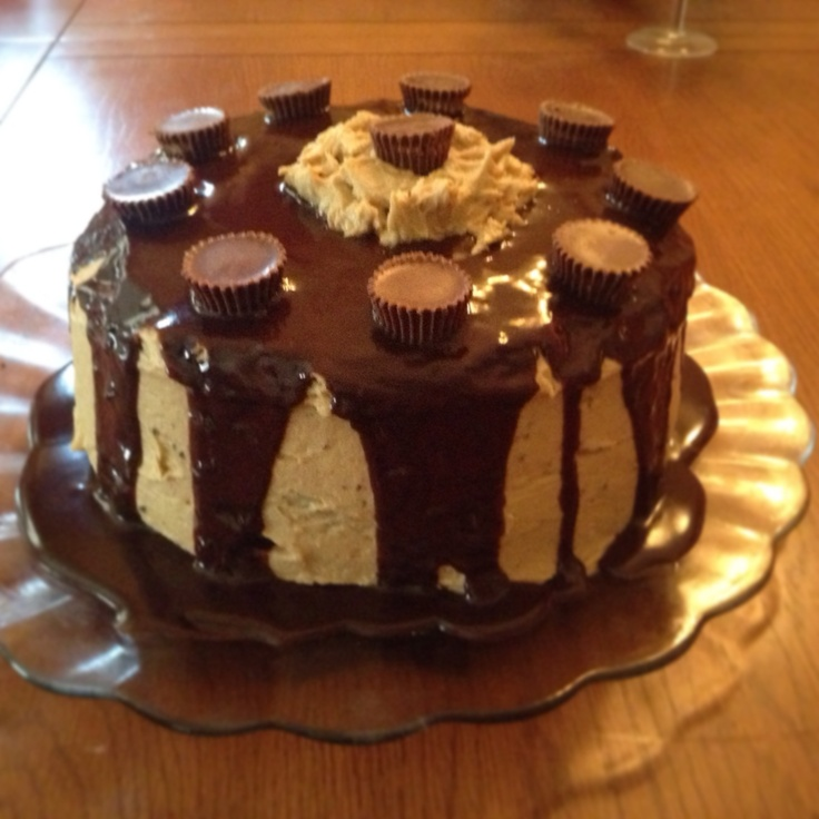 Reese S Peanut Butter Chocolate Cake From Scratch
