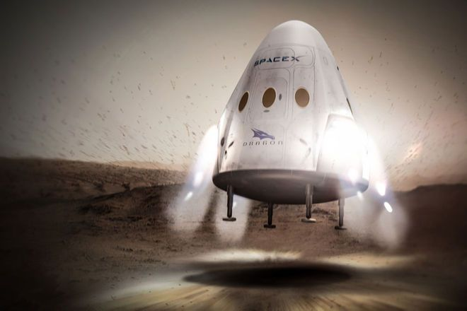 Elon Musk Says SpaceX's New Spaceship Could Go 'Well Beyond Mars'