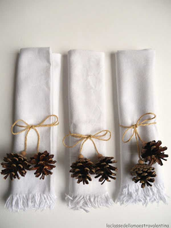 Best 25 Christmas Napkins Ideas On Pinterest Christmas